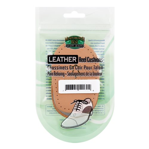 LEATHER HEEL CUSHIONS - ASSORTED SIZES